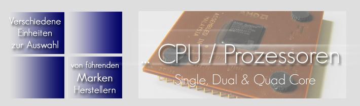 CPU / Prozessoren