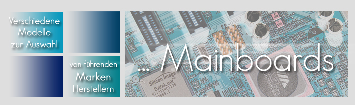 Mainboards / Motherboards