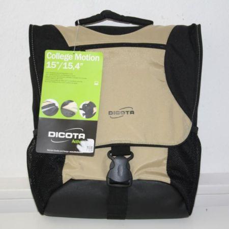 Dicota-College-Motion-Tragetasche-und-Rucksack-beige-N11588P-NEU-154-15-281430744520