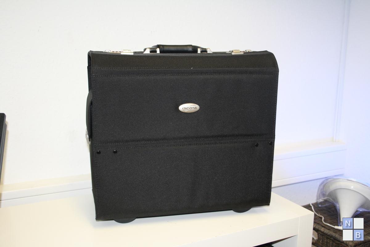 dicota datacart kompakter koffer trolley f r notebooks drucker n25728k neu notebook traum. Black Bedroom Furniture Sets. Home Design Ideas