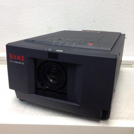 Eiki-LC-XGA970-Beamer-Projektor-getestet-OK-mit-Rolltrolley-231090103097