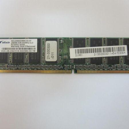 Elixir-M2U25664DS88C3G-5T-265-MB-DDR1-184-pin-Non-ECC-400MHz-PC3200U-Top-Ware-230885343228