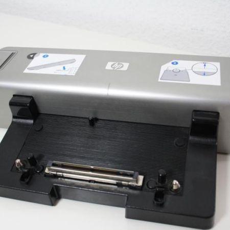 HP-Dockingstation-HSTNN-I09X-zb-6910p-nc6320-nc6400-silberne-Dock-B-Ware-390600904232