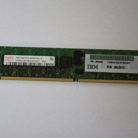 Hynix-1GB-Speicher-PC2-3200R-IBM-PN-38L5915-Server-Arbeitsspeicher-230980338323
