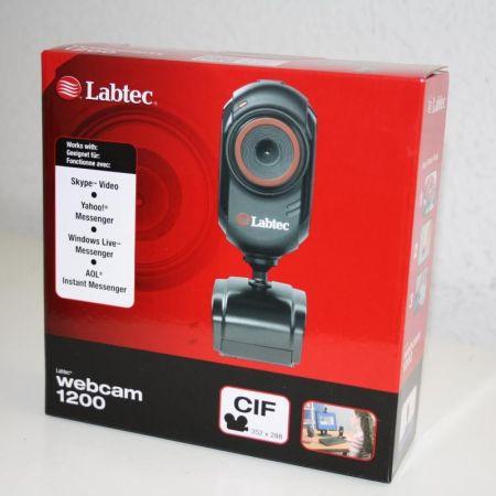 Labtec-USB-Webcam-1200-Skype-Yahoo-Windows-Live-Aol-Instant-Kompatibel-271042280684
