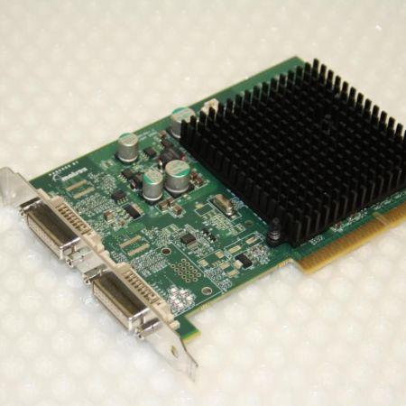Matrox-P650-P65-MDDA8X64F-AGP-Grafikkarte-64-MB-400MHZ-DUAL-2xDVI-Passiv-gekhlt-330883028360