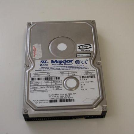 Maxtor-20GB-35IDE-Festplatte-Intern-Model-52049H3-HDD-330896505725