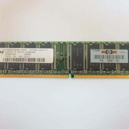 Micron-M-256MB-DDR-333MHz-CL25-PC2700U-RAM-MT8VDDT3264AG-335C4-HP-305957-041-230885342264