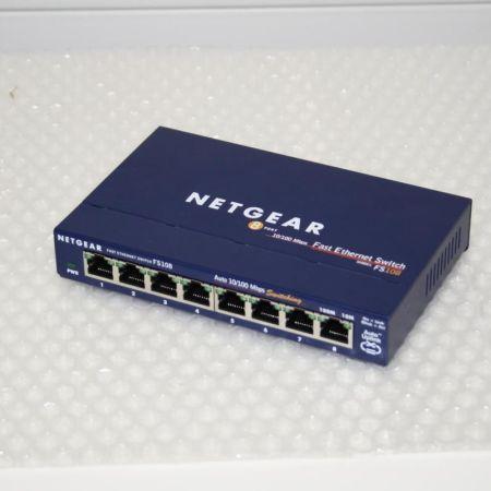 NETGEAR-ProSafe-8-Port-10100-Switch-FS108-v2-331019684917