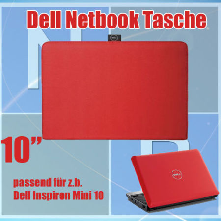 Original-Dell-Inspiron-Mini-10-Netbook-Sleeve-Notebook-Tasche-10-NEU-270921892396