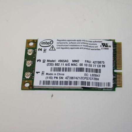 Original-IBM-WLAN-Karte-Mini-PCI-FRU-42T0875-4965AG-T60-T61-X60-X61-R60-R61-281252040939