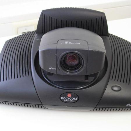 Polyspan-Polycom-ViewStation-PVS-16XX-Videokonferenzsystem-Konferenztelefon-330896522854