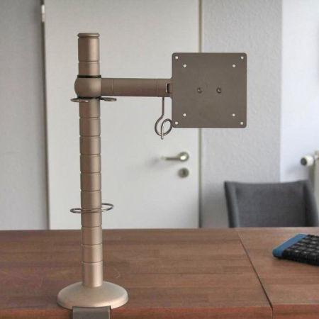 monitor schwenkarm tisch
